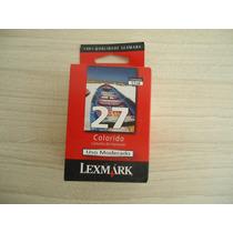 Cartucho Original Lexmark 27 Colorido 10n1193