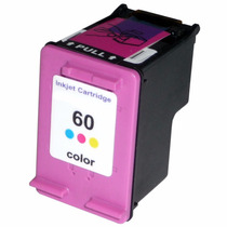 Cartucho Hp 60xl Cc641wb Colorido Compativel 12,5ml