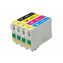 Cartucho Compativel Epson T117 / To732 / To733 / To734 Novo