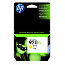 Cartucho Hp Impressora Officejet 920xl Yellow Cd974al