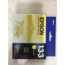 Cartucho Original Epson T133 Amarelo - 5ml