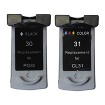 Kit Canon Pg30 + 31 Ip1800 2500 Mp140 190 210 470 Mx300 310.
