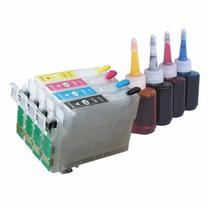 Cartucho Recarregável Xp411 Xp101 Xp211 Wf2532 + 120ml Tinta