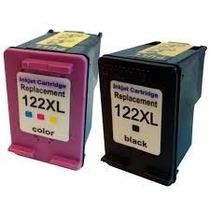 Kit 122xl Bk (25ml) + 122xl Color(12ml) Cheios + Frete Grati