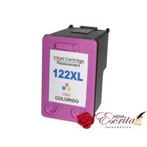 Cartucho Hp 122xl Colorido Ch564hb Compatível 122 Tri-color