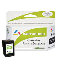 Cartucho Hp 122xl 20ml Preto Original Alto Volume +