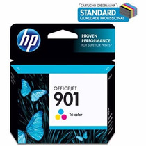 Cartucho Hp 901 Cc656ab Color Original Lacrado Nf Garantia