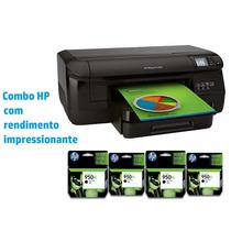 Impressora Jato De Tinta Color Hp Combo L8x86a#696 Oj Pro 8