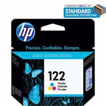 Cartucho De Tinta Colorido 122 - Ch562hb - Impressora Hp