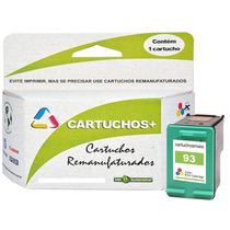 Kit Cartucho Hp 92 + 93 Original Alto Volume Remanufaturado
