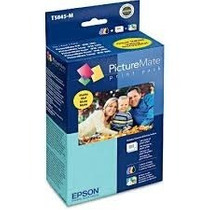 Kit Print Pack T5845-m 100 Fotos Fosco Original Epson Pm225