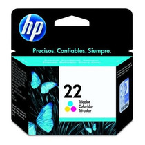 Cartucho Hp 22 Color C/ 15 Ml 21 27 28 56 60 74 75 + Brinde
