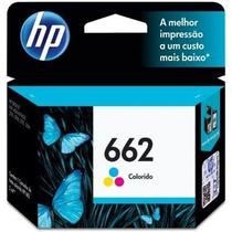 Cartucho Hp 662 Color Original Impressora Hp 3516 2516 2546