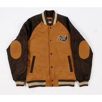 Rocawear 1159r Camelo Masculino Varsity Jaqueta