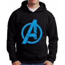 Moletom Avengers Os Vingadores Blusa Super Heroi Vingadores