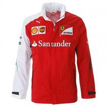 Nova Jaqueta De Chuva Scuderia Ferrari F1 Team 2014 - M
