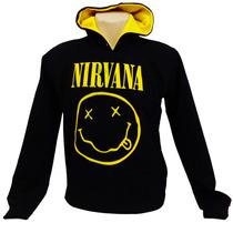 Blusa De Moletom Nirvana Personalizado