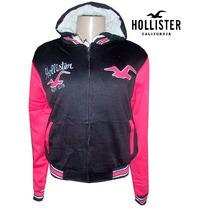 Blusa De Moletom Hollister (jaqueta Forrada) Feminina+frete