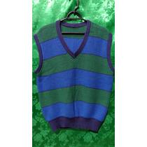 Colete Pullover De Lã Masculino Tm/p