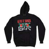 Casaco Moletom Guns N Roses Blusa De Frio Algodão Poliester