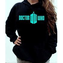 Blusa Moletom Doctor Who Canguru Com Capuz