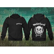 Jaqueta Moletom Motörhead Bandas Rock Capuz Casaco