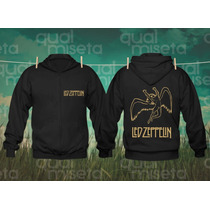 Jaqueta Moletom Led Zeppelin Bandas Rock Capuz Casaco