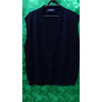 Colete Pullover De Lã Masculino - Importado Tm/52