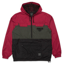 Assassin Mens Windbreaker Brgundy
