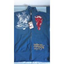 Blusa Moleton Ed Hardy Tamanho Original 100% Comprado Eua