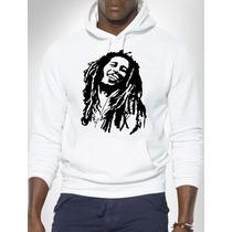 Blusa Bob Marley Moletom Canguru - Promoção !!!