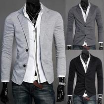 Casacos De Malha Casaco Outwear Homens Jaqueta Blazer Xs S M