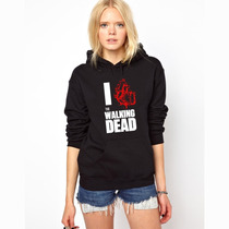 Blusa The Walking Dead 2015 Moletom Canguru -pronta Entrega!