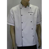 Jaleco Cozinha Mestre Cuca Padaria Restaurante Mangas Curtas