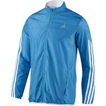 Jaqueta Adidas Running Corrida Azul P M G - Pronta Entrega