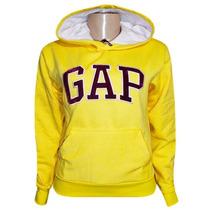 Blusa Moletom Gap Feminina Amarela