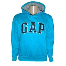 Blusa Moletom Gap Feminina Azul Claro