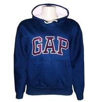 Blusa Moletom Gap Feminina Azul Marinho