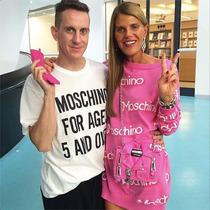 Maxipull Vestido Barbie Inspired Moschino!!
