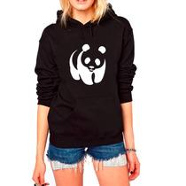 Blusa Panda Moletom Canguru Personalizada Frete Grátis