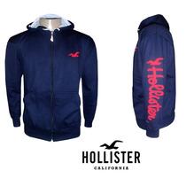Blusa De Moletom Hollister - Masculino (frete Gratis)