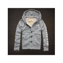 Moleton/casaco/blusa De Frio Hollister Promoção Menor Preço
