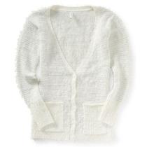 Aeropostale Womens Distorcido Slouchy Cardigan Sweater