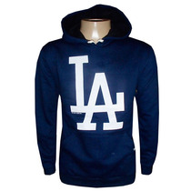 Blusa Moletom Los Angeles Dodgers Baseboll Azul Marinho La