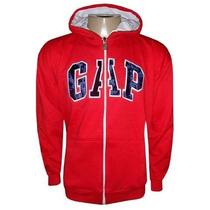 Blusa Gap De Moletom Casaco Jaqueta Vermelha