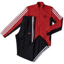 Agasalho Adidas Junior Yb Tib Kn S23329 8 A 14 Anos Original