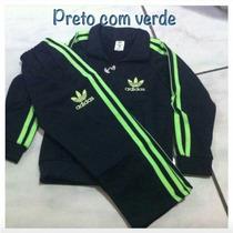 Oferta! Conjunto Adidas,agasalho, Calça, Infantil, Unissex!