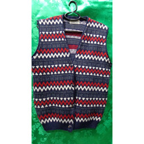 Colete Pullover De Lã Masculino Marca Dalmalhas Tm/ G
