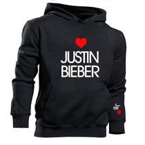 Blusa Justin Bieber Moletom Canguru - Promoção Limitada!