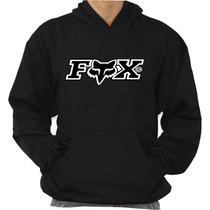 Moleton Fox Racing Extreme Canguru Com Capuz